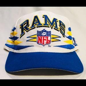 Vintage 1990's Los Angeles Rams snapback hat